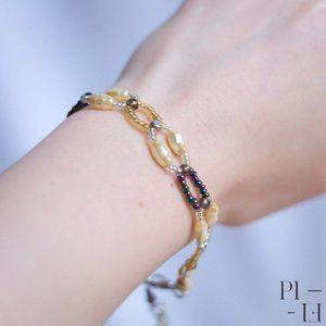 2/50$ pretty bracelet with butterfly pendant